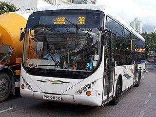 New Lantao Bus bus company in Hong Kong