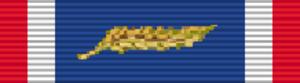 Gregory S. Martin - Image: NLD Medal of Merit, Gold ribbon bar