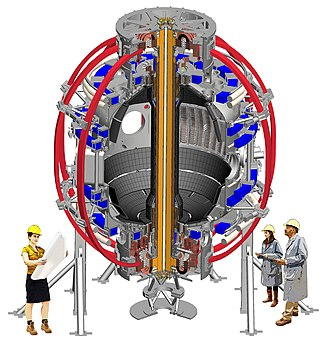 National Spherical Torus Experiment - CAD drawing of NSTX