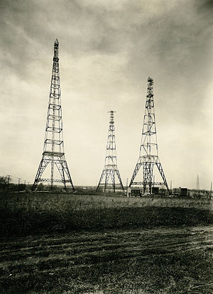 "NAA (defunct) - Arlington ""three sisters"" wireless towers (1913)"