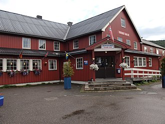 "Namsskogan - ""Nams-Inn"" is a small hotel in Namsskogan."