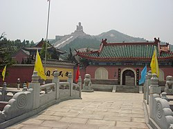 Nanshan Temple in Longkou
