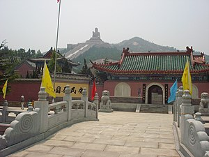 Longkou - Nanshan Temple in Longkou