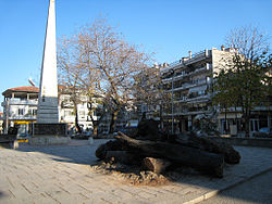 Naoussa, Greece central square.jpg
