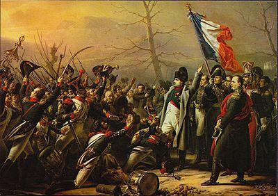 Napoleon står åter på Fransk mark