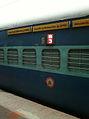 Narayanadri-Falaknuma Express rakes at Secunderabad 03.jpg