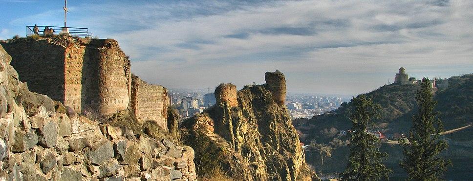 Narikala, Tbilisi (cropped)