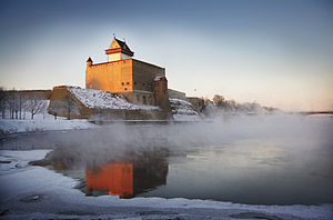 Hermann Castle - Hermann Castle in January