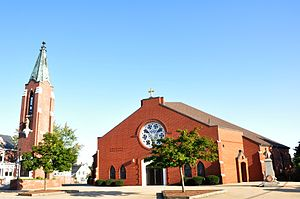 St. Aloysius of Gonzaga Church - Image: Nashua NH St Aloysius Of Gonzaga Church