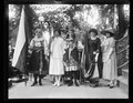 Nat'l Women's Party. May 21, 1922. Mme. Harriet Gottling, of Czech.; Miss Susie Chow, of China, Mme. Josephine Klima, of Prague, Slovakia, Miss Ballivian, of Bolivia, and Miss Vina Stepanek, LCCN2016891454.tif