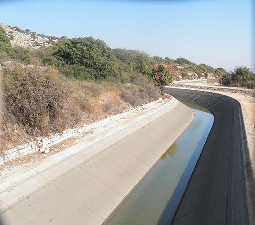 National Water Carrier of Israel near kibbutz Hukok ap 001