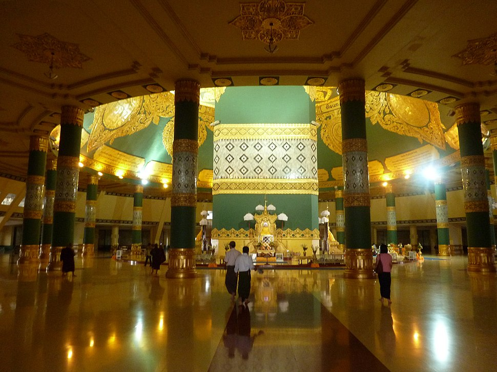 Naypyidaw -- Uppatasanti Pagoda interior