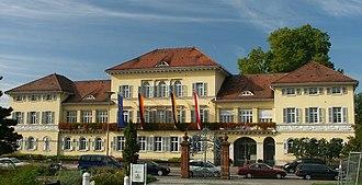 Edingen-Neckarhausen - Palace (Schloß) at Neckarhausen