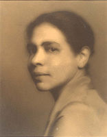 Picture of an author: Nella Larsen