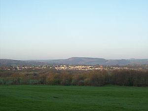 Nelson, Caerphilly - Nelson, looking west