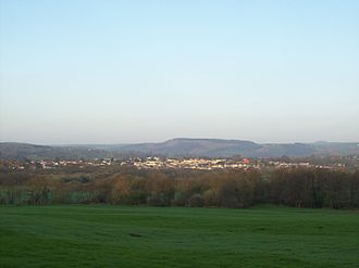Nelson, Caerphilly - Image: Nelson, looking west