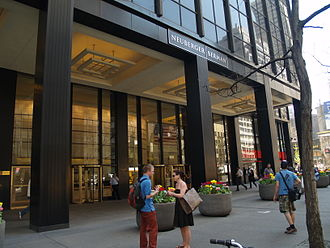 Bankruptcy of Lehman Brothers - Neuberger Berman's New York City headquarters on Third Avenue.
