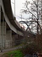 Neue Niederräder Brücke Fortsetzung