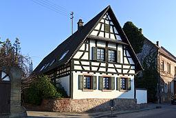 Neuhofen Fachwerkhaus 20110129