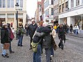 Never too old for 'FREE HUGS'; Brugge, Belgium.jpg