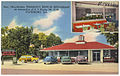 New, ultra-modern Franklin's Drive-in Restaurant, at intersection of U.S. route 301-25-80, Statesboro, Ga. (8342821133).jpg