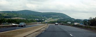 New Brunswick Route 2 - Route 2 eastbound, west of Edmundston