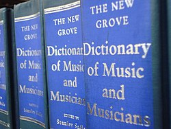 Image illustrative de l'article Grove Dictionary of Music and Musicians