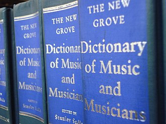 The New Grove Dictionary of Music and Musicians - Image: New Grove, shallow