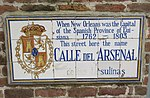 New Orleans street name tiles - Calle del Arsenal y Ursulinas.jpg