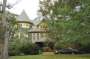 Rev. Francis E. Clark House - Image: Newton MA Clark House