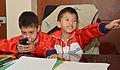 Niños ganadores de las Olimpiadas Especiales Intercantonales visitaron al Alcalde (11106564566).jpg