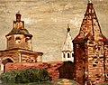 Nicholas Roerich - The monastery Alexander Nevsky in St. Petersburg (1903).jpg