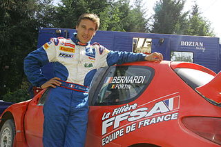 Nicolas Bernardi French rally driver