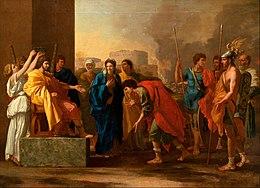Nicolas Poussin - The continence of Scipio - Google Art Project.jpg