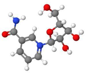 Nicotinamide riboside - Image: Nicotinamideriboside