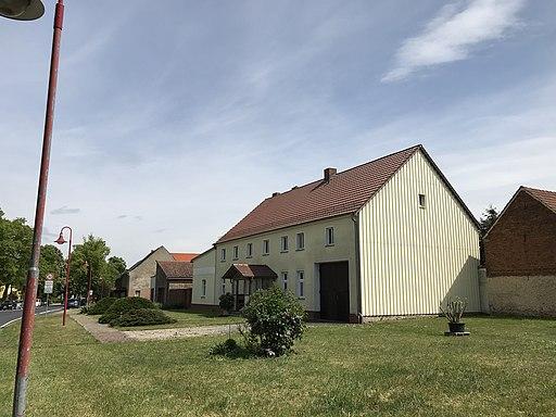 Niederer Fläming-Lichterfelde Dorfstraße Blick nach Osten