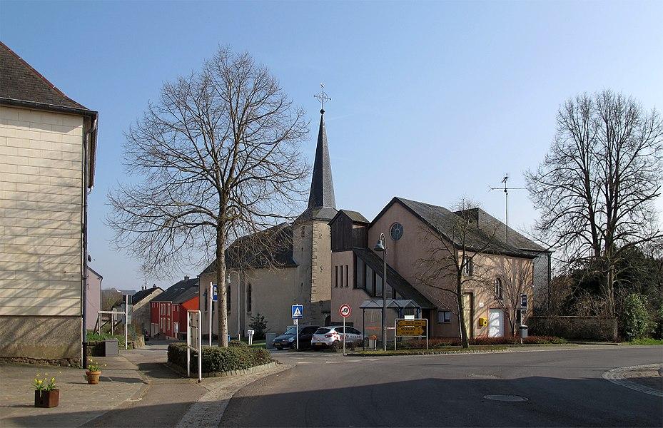 Church of Niederpallen, Luxembourg