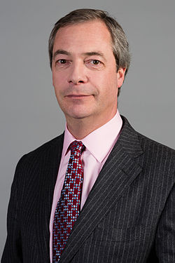 Nigel Farage, from file, 2014.  Image: Diliff.