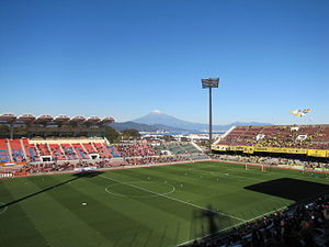 Shimizu S-Pulse - Mt. Fuji as seen from Nihondaira Stadium