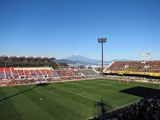 Shimizu S-Pulse - Mt. Fuji as seen from Nihondaira Stadium