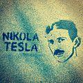 Nikola Tesla Graffiti in Madrid, Spain 2013.jpg