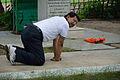 Nisith Ranjan Chowdhury Demonstrates CPR - Howrah 2013-06-08 9088.JPG