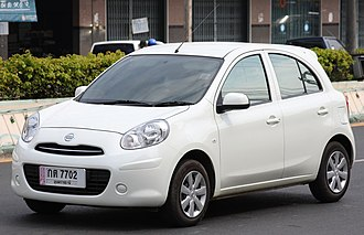 Nissan Motor Indonesia - Image: Nissan March in Ubon Thailand