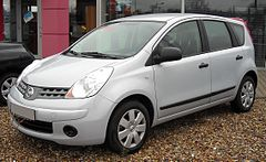 Nissan Note I przed face liftingiem