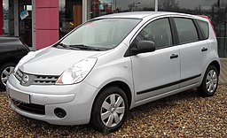 Nissan Note front 20081206