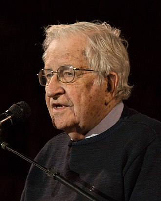 Noam Chomsky - Speaking at a conference about humanity's prospects for survival in Amherst, MA, April 17, 2017