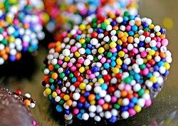 Bingo Ball Cake Decorations