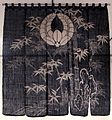 Noren (curtain), Japan, Meiji period, Honolulu Museum of Art.JPG