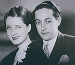 Norma Shearer with husband Irving Thalberg
