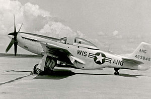128th Air Refueling Wing - 128th FIG North American F-51D-20-NA Mustang 44-64159, about 1949